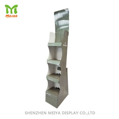 Corrugated Display Stand , 4-tier, CMKY Printed
