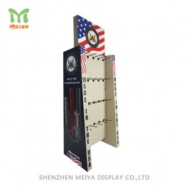 Hot Sell! Promotion Cardboard Display, 40 PEG Double sided Hooks