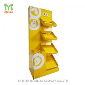 Cardboard  Displays Stands, 4-tier promotion umbrella cardboard display