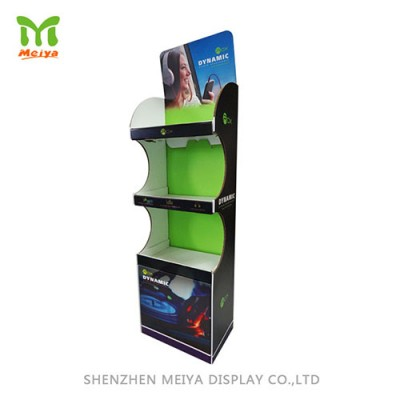 Flooring 3 layer POP Display Stand