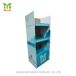 Corrugated Cardboard Dispaly with 3 shelves