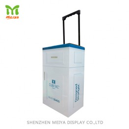 Promotion Display Cardboard Trolley Bag