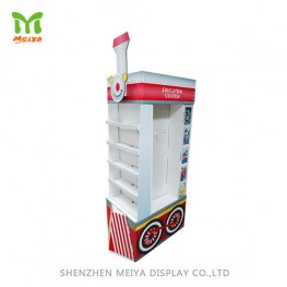 Innovative Train-shape Cardboard Display for Promotion