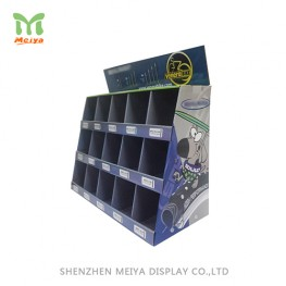 Advertising Cutout cardboard floor standing display rack