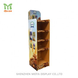 Cardboard pop Displays For Snack, Pet Food Display Rack