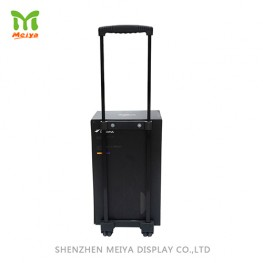 Corrugated Cardboard Display Paper Trolley Box For Exhibition