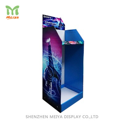 China supplier Promotion cardboard floor display stands pop displays