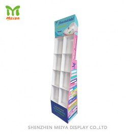 Factory High Quality Customized Pop Floor Sales Stand Cardboard Display Stand,Creative Point Of Purchase Display