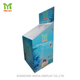 Book Shop Design Cardboard Kids Book Displays Dump Bin For Promotion