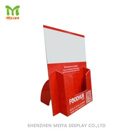 Cardboard Counter Display Brochure Holder