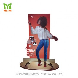 Custom Promotion Cardboard Display Cutout Paper Advertising Standee