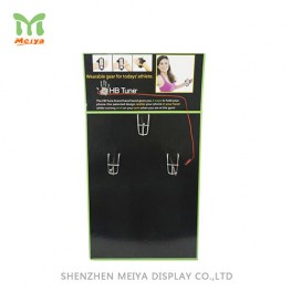 Customized Size and Logo Counter Display For Accessories and Cosmetics with Peg Hooks