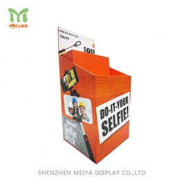 Supermarket Promotion Cardboard Dump Display For Daily Accessories  Corrugated Floor Display Stand
