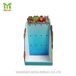 Customized all kinds of cardboard counter display