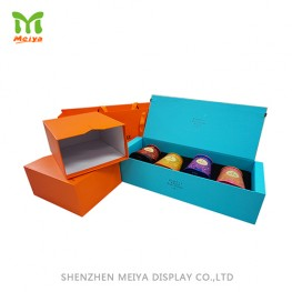 Advertising cardboard pop counter display gift box sets