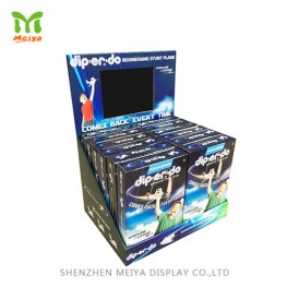 Push Marketing Cardboard  Counter Display with Electronic Screen