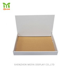 Custom Design Cardboard Counter Display Box with Foldable Lid