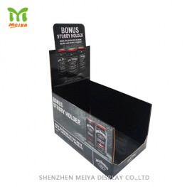 Foldable Lid Cardboard Counter Display Box for Tin Can