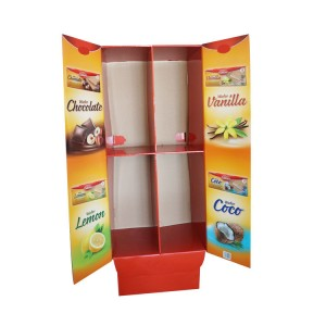Cabinet Style Display Stand for Grocery Retail