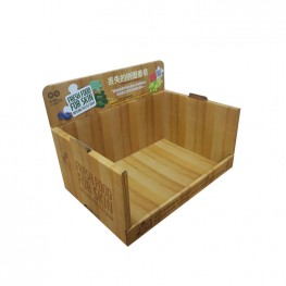 Stackable Cardboard Display Shipper Box for Soap and Cleaning Supplies